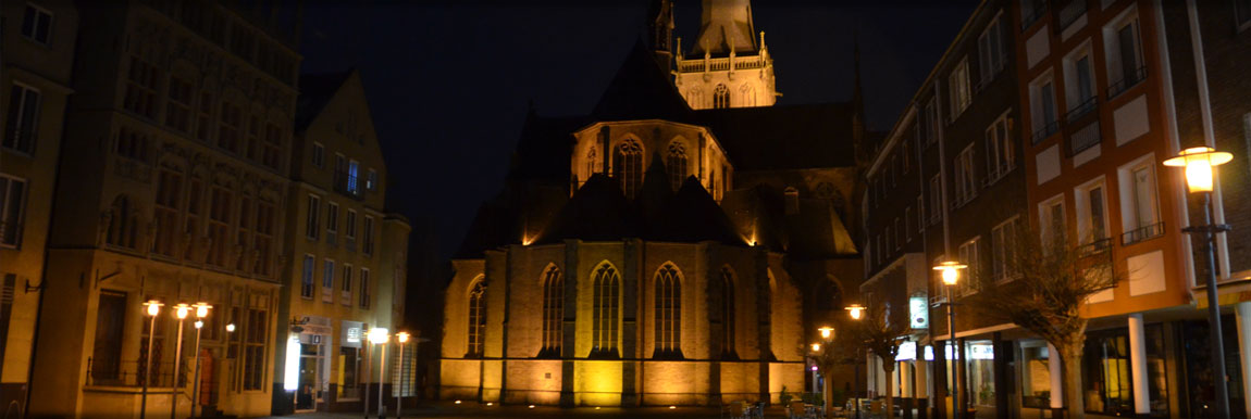 Der Willibrordi-Dom in Wesel